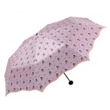 UV protection flowers folding sun umbrella