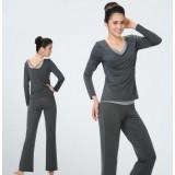 V-neck long-sleeved dancing yoga clothes suit