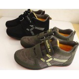 Velcro leather warm sports shoes