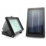 Waterproof light control solar garden 56 LED floodlights