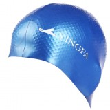 Waterproof particles patterns swimming cap