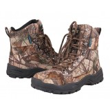 Wear non-slip waterproof hunting short boots