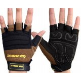 Wear resistant cycling gloves