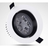 White + Black 5-7W 12V LED ceiling lights