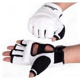 White + Black Taekwondo Half-finger gloves