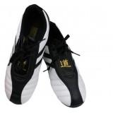 White + Black Universal PU Taekwondo shoes