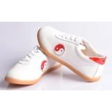 white canvas Tai Chi shoes