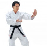 White cotton karate clothing