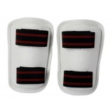 white PU taekwondo Armguards
