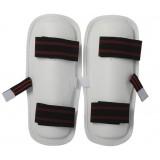 white PU taekwondo Legguards