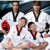 White pure cotton taekwondo clothes