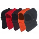 Windproof double layer plush riding face mask