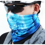 Windproof seamless riding scarf