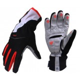 Windproof thickened long finger cycling gloves