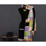 Winter & autumn knitting wool Fashion colorful super long scarf