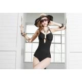 Woman's Black Sexy One-Piece Swimsuit