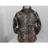 Women's camouflage hunting coat