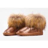 Women's waterproof mini short boots