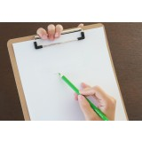Wooden A4 writing board