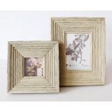 Wooden Retro photo frame