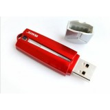 Write-protected USB flash drive