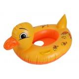 Yellow duck children swimming ring