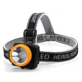 Yellow Rechargeable LED Headlamp