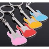Zinc Alloy Guitar keychain