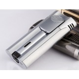 Zinc alloy thin gas lighter
