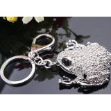 Zinc Alloy Toad keychain