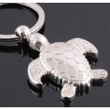 Zinc alloy tortoise keychain