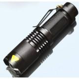 Zoom Mini CREE XM-T6 / Q5 LED Flashlight