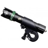 Zooming CREE Rechargeable Tactical LED Flashlight / riding equipment