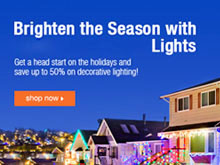 Cheap LED holiday lights