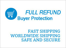 Safe and secure purchasing environment!